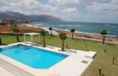 21, Beachside Villa on a large flat plot