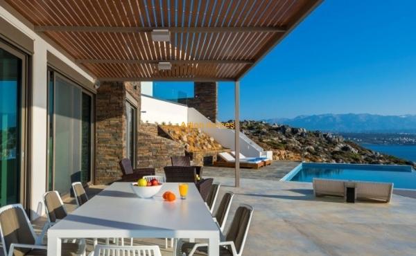 Modern luxury villa, private beach access