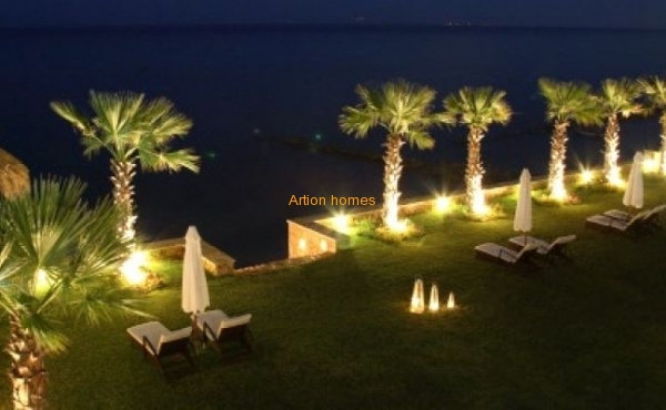 A luxurious complex of villas for rent on the beach