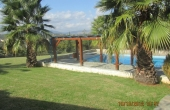 395, Well-kept large villa, walking village and sand. beach