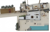 401, Ultra luxury villa, swimming pool 100 m2, land 1 Ha with beach
