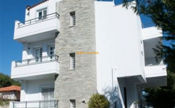 Newly equipped villa 100 m from the sandy beach