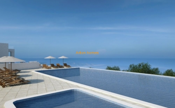 Modern, new, bright resort complex