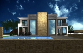 428, Unfinished villa for 40 hundred, panoramic view