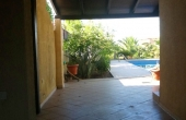 454, Villa with pool and garden, 80 m from the beach