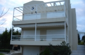 2010, newly built detached house, 60m from the beach in Loutra Oraias Elenis Korinthos