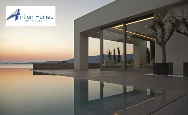 Inspiring, contemporary property located in Lepitsa, along the coastline of Porto Heli